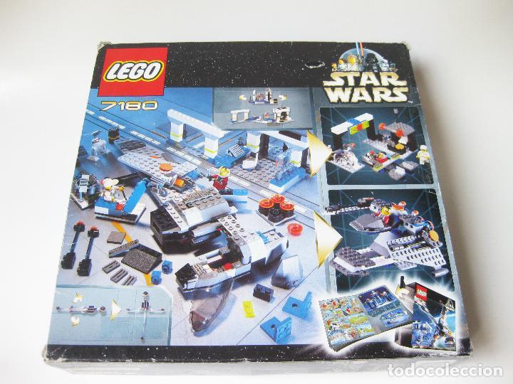 Juegos construcción - Lego: SET O CAJA LEGO REF. 7180 STAR WARS - B-WING AT REBEL CONTROL CENTER - CON INSTRUCCIONES - Foto 2 - 97213903