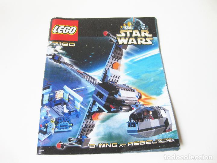 Juegos construcción - Lego: SET O CAJA LEGO REF. 7180 STAR WARS - B-WING AT REBEL CONTROL CENTER - CON INSTRUCCIONES - Foto 5 - 97213903