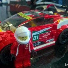 Juegos construcción - Lego: JUEGUETE LEGO: COCHE FERRARI ORIGINAL. Lote 97800855