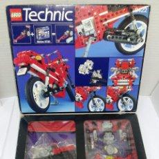 Juegos construcción - Lego: LEGO TECHNIC 8422. MOTO 2 EN 1. NUEVO EN CAJA. 1995. CAJA DECOLORADA Y ROZADA. INTERIOR SIN ESTRENAR. Lote 97968086