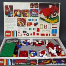 Juegos construcción - Lego: CAJA LEGO 135 COMPLETA CON 338 PIEZAS + 134 PIEZAS EXTRA AÑOS 80. Lote 98129235