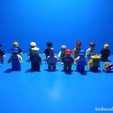 Juegos construcción - Lego: LOTE DE MUÑECOS LEGO LEGOS ORIGINALES. Lote 98234527