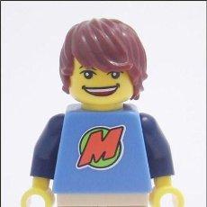 Juegos construcción - Lego: LEGO MINIFIGURA CLUB MAX. EXCLUSIVA. Lote 98475883