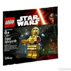 Juegos construcción - Lego: LEGO MINIFIGURA STAR WARS C-3PO RED ARM. EXCLUSIVA RARA. Lote 105993262