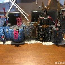 Juegos construcción - Lego: MEGABLOCKS 9514 GRAGON METAL AGES. Lote 98719063