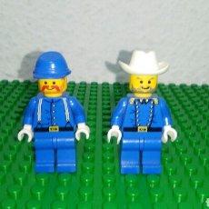 Juegos construcción - Lego: MINIFIGURAS LEGO WESTERN SYSTEM 6762 Y 6769 FORT LEGOREDO. Lote 99127666