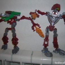 Juegos construcción - Lego: 2 LEGO BIONICLE (NO SÉ SI ESTÁN COMPLETOS). Lote 99555507