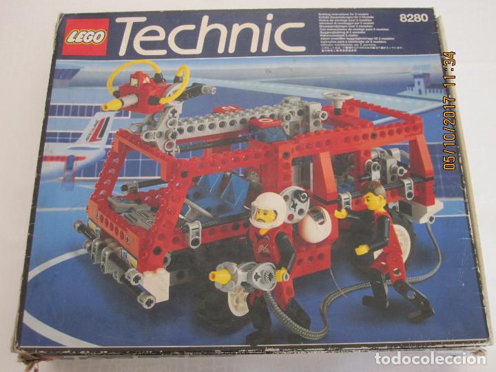 LEGO TECHNIC, CAMION / TODOTERRENO DE BOMBEROS REFERENCIA 8280 INCOMPLETO (Juguetes - Construcción - Lego)
