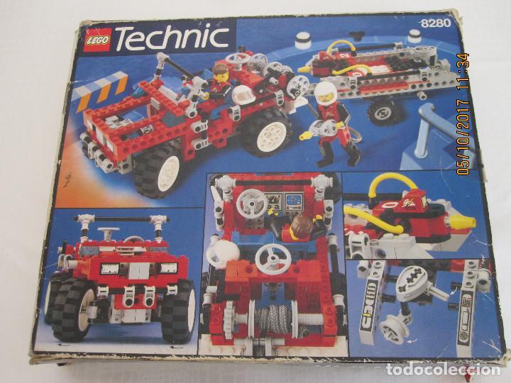 Juegos construcción - Lego: Lego technic, camion / todoterreno de bomberos REFERENCIA 8280 INCOMPLETO - Foto 2 - 100603839