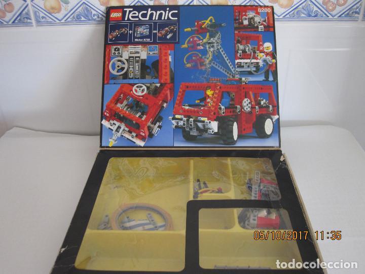 Juegos construcción - Lego: Lego technic, camion / todoterreno de bomberos REFERENCIA 8280 INCOMPLETO - Foto 3 - 100603839
