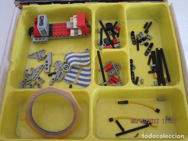 Juegos construcción - Lego: Lego technic, camion / todoterreno de bomberos REFERENCIA 8280 INCOMPLETO - Foto 4 - 100603839