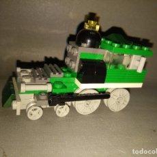 Juegos construcción - Lego: ANTIGUO TREN -- LEGO -- AÑOS 80 -- 9 X 4.5 CMS . Lote 101000335