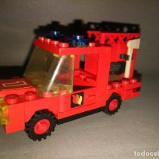 Juegos construcción - Lego: CAMION DE BOMBEROS LEGO --- AÑOS 80 --- 9 X 4.5 CMS . Lote 101001247