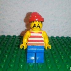 Juegos construcción - Lego: MINIFIGURA PIRATA, ORIGINAL DE LEGO PIRATES AÑO 1989. SETS: 6276; 6251; 1481; 6254. DESCATALOGADO.. Lote 101321198