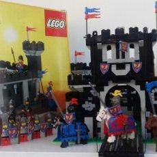 Juegos construcción - Lego: LEGO MEDIEVAL SET 6085 -BLACK MONARCH'S CASTLE- (1988). Lote 101391539