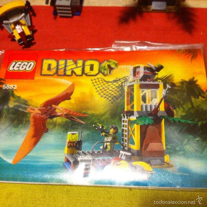 Juegos construcción - Lego: Lego dino 5883 la torre del pteranodon descatalogado dinosaurio teranodon faltan dos - Foto 2 - 101537384