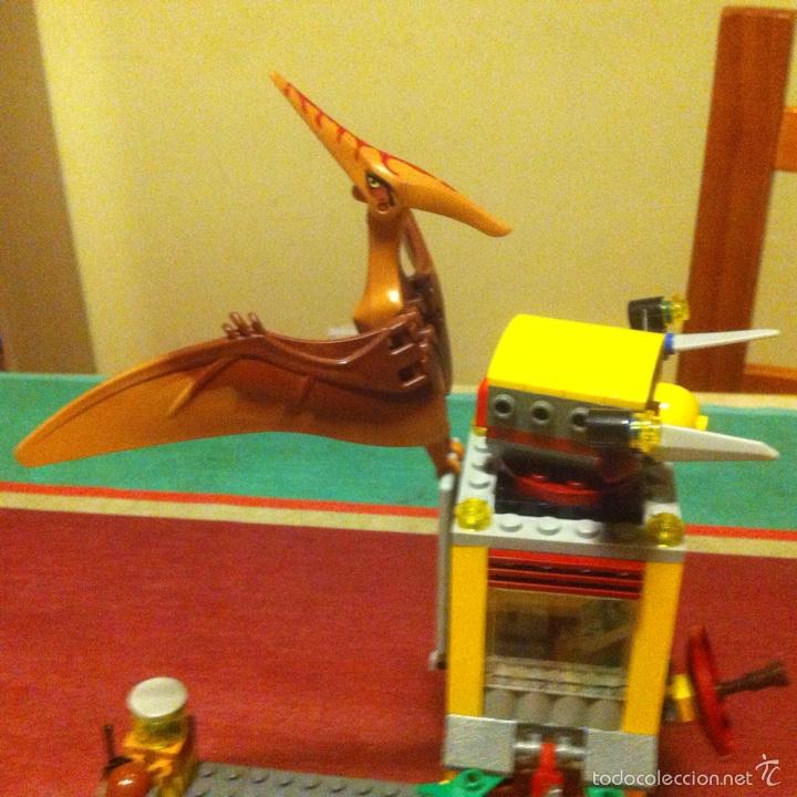 Juegos construcción - Lego: Lego dino 5883 la torre del pteranodon descatalogado dinosaurio teranodon faltan dos - Foto 4 - 101537384
