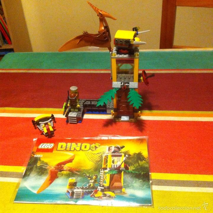 Juegos construcción - Lego: Lego dino 5883 la torre del pteranodon descatalogado dinosaurio teranodon faltan dos - Foto 5 - 101537384