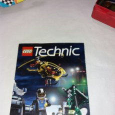Juegos construcción - Lego: CATALOGO LEGO TECHNIC TRIPTICO. Lote 101742867