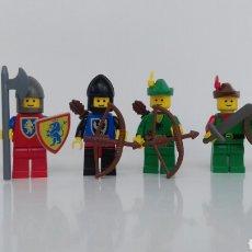 Juegos construcción - Lego: LEGO 6 MINIFIGURAS MEDIEVAL CASTLE SET 6103 (1988). Lote 102606902