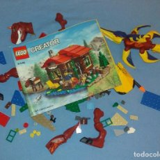 Juegos construcción - Lego: LOTE ORIGINAL DE LEGO CON CATALOGO. Lote 104349115