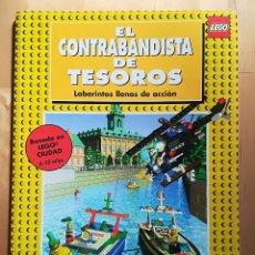 Juegos construcción - Lego: LEGO - EL CONTRABANDISTA DE TESOROS - POLICIA UNIVERSAL - LABERINTOS LLENOS DE ACCIÓN - 1999. Lote 105023103