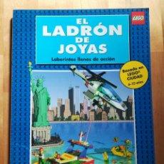 Juegos construcción - Lego: LEGO - EL LADRON DE JOYAS - POLICIA UNIVERSAL - LABERINTOS LLENOS DE ACCIÓN - 1999. Lote 105023259
