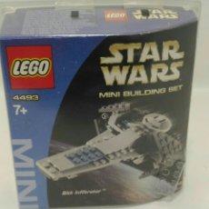 Juegos construcción - Lego: LEGO STAR WARS SITH INFILTRATOR REF. 4493 AÑO 2004. Lote 105272335