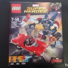 Juegos construcción - Lego: LEGO MARVEL SUPER HÉROES 76077. Lote 105589619