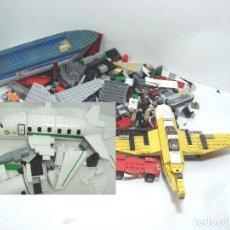 Juegos construcción - Lego: LOTAZO PIEZAS SUELTAS LEGO - 1,112 KGS - PIEZA LOTE - JUEGO CONSTRUCCION-KILO AVION BP BARCO BARCA. Lote 107001003