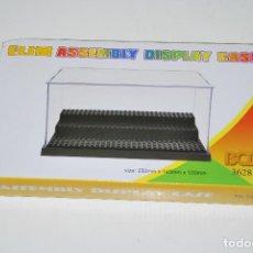 Juegos construcción - Lego: URNA VITRINA EXPOSITOR PARA LEGO ELIM GRIS (NUEVA SIN ESTRENAR). Lote 161082444