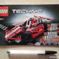 Juegos construcción - Lego: INSTRUCCIONES - TECHNIC 42011 - LEGO. Lote 107295211