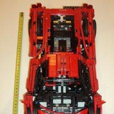 Juegos construcción - Lego: LEGO 8653 ENZO FERRARI 1:10 - AÑO 2005 PIEZAS 1390 - 65.2 CM X 43.2 CM X 8 CM. Lote 107300859