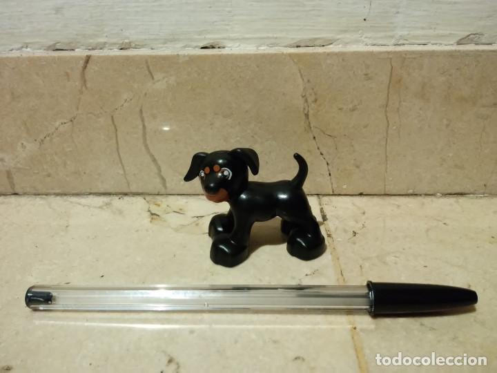 FIGURA PVC PERRO NEGRO - LEGO - DUPLO (Juguetes - Construcción - Lego)
