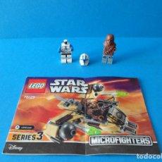 Juegos construcción - Lego: LOTE LEGO STAR WARS - DESPIECE + MANUAL DE INSTRUCCIONES - MICROFIGHTERS - DISNEY. Lote 107457523