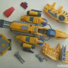 Juegos construcción - Lego: NAVE ESPACIAL DE PIEZAS DE CONSTRUCCION , NO SE LA MARCA , SOLO HAY 3 PIEZAS DE LEGO. Lote 107593087