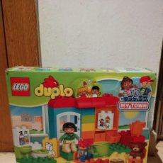 Juegos construcción - Lego: CAJA ORIGINAL VACIA - MY TOWN DUPLO - LEGO. Lote 107623159