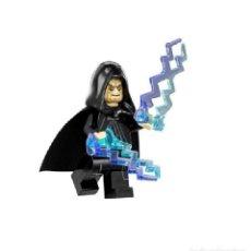Juegos construcción - Lego: MINIFIGURA PALPATINE STAR WARS GUERRA DE LAS GALAXIAS COMPATIBLE LEGO. Lote 150521842