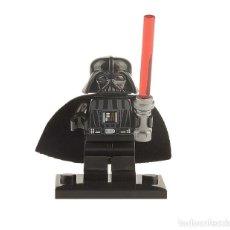 Juegos construcción - Lego: MINIFIGURA DARTH VADER GUERRA DE LAS GALAXIAS STAR WARS GUERRA DE LAS GALAXIAS COMPATIBLE LEGO. Lote 130497271