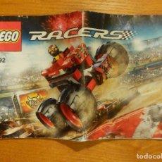 Juegos construcción - Lego: INSTRUCCIONES JUEGO DE CONSTRUCCIÓN - LEGO - RACERS - 9092 -. Lote 107893763