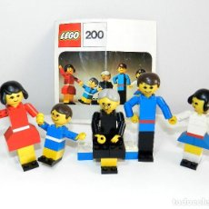 Juegos construcción - Lego: FAMILIA LEGO 1974, MOD 200.. Lote 108367079