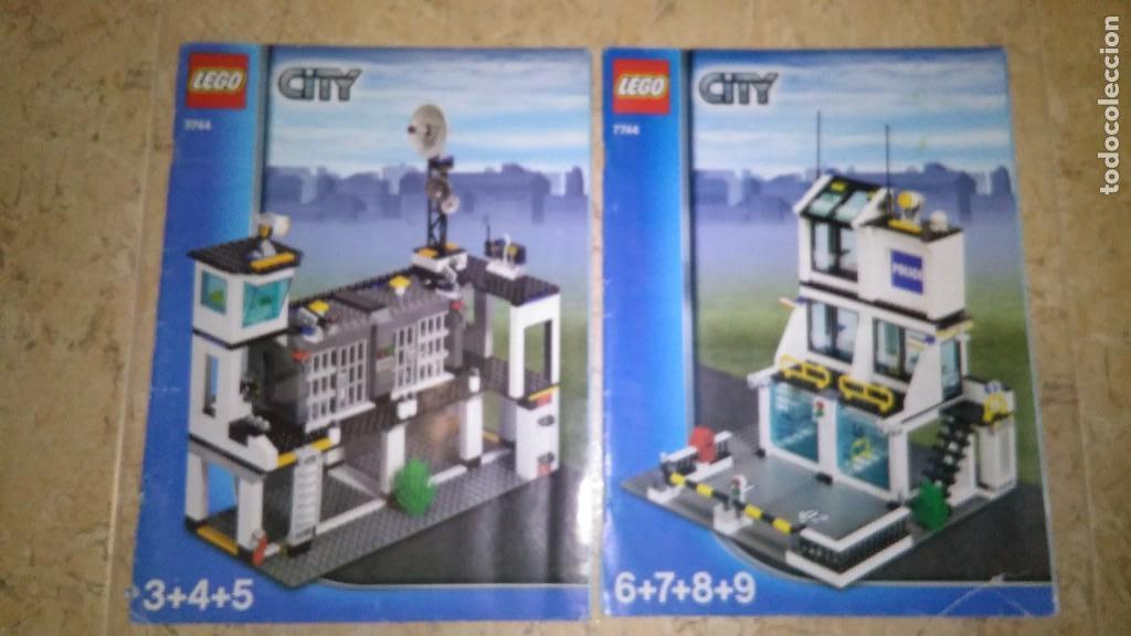 Manual Lego City 7744 Y 7744 Comprar Juegos Construccion Lego