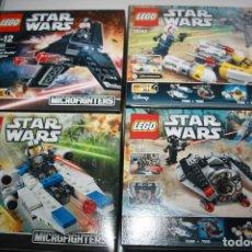 Juegos construcción - Lego: LEGO LOTE SERIE STAR WARS. Lote 109527191