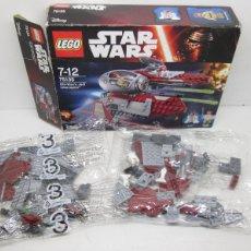Juegos construcción - Lego: LEGO STAR WARS OBI WAN'S JEDI INTERCEPTOR REF. 75135. Lote 110068111