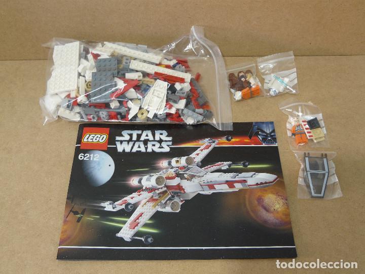Juegos construcción - Lego: Lego 6212 Star Wars x-wing fighter - Foto 2 - 110438943