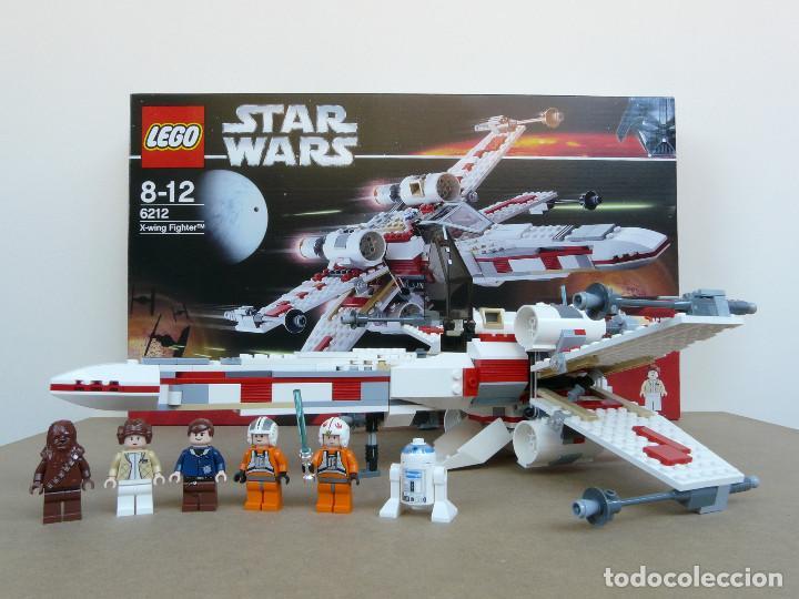 Juegos construcción - Lego: Lego 6212 Star Wars x-wing fighter - Foto 4 - 110438943