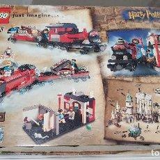 Juegos construcción - Lego: LEGO HARRY POTTER , TREN HOGWARTS EXPRESS , 4708 MUY COMPLETO. Lote 110630851