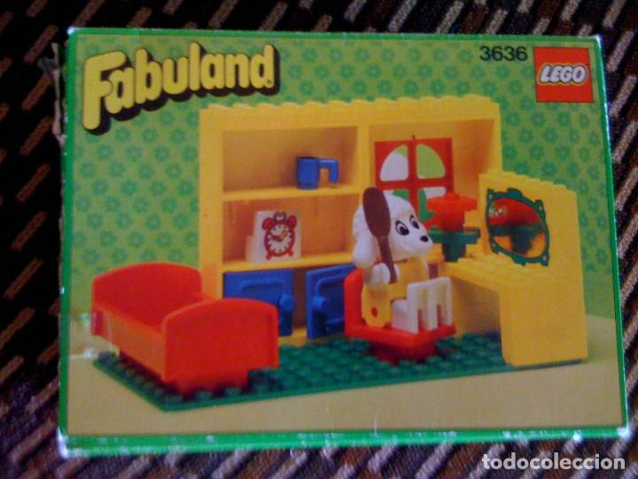 Antiguo Juguete Lego Fabuland 3636 Tocador Buy Building And