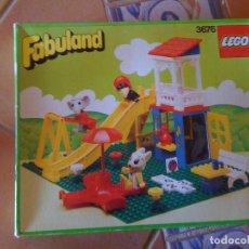 Juegos construcción - Lego: ANTIGUO JUGUETE LEGO FABULAND 3676 «TOBOGÁN». Lote 110737719