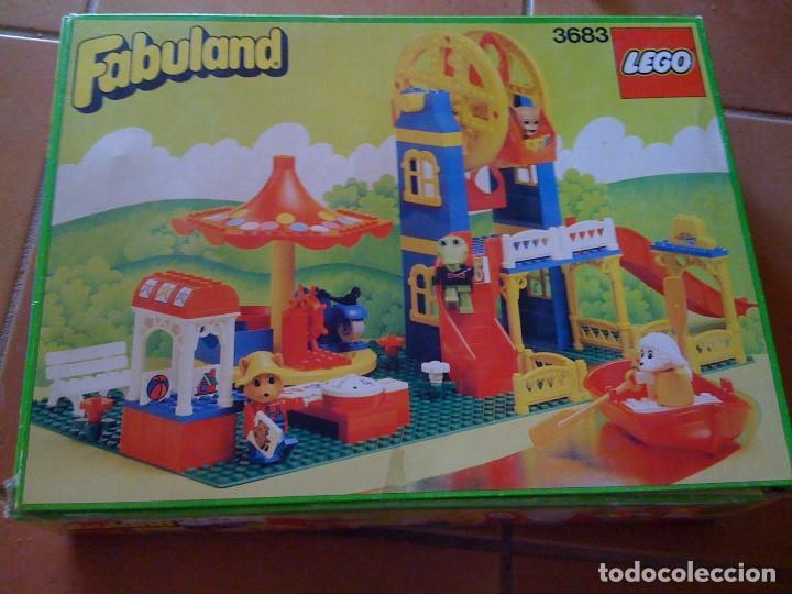 ANTIGUO JUGUETE LEGO FABULAND 3683 «PARQUE DE ATRACCIONES» (Juguetes - Construcción - Lego)